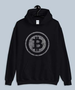 Vintage Bitcoin Shirt For Crypto Currency Traders Hoodie