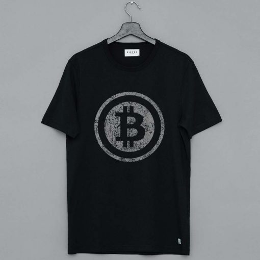 Vintage Bitcoin Shirt For Crypto Currency Traders T Shirt