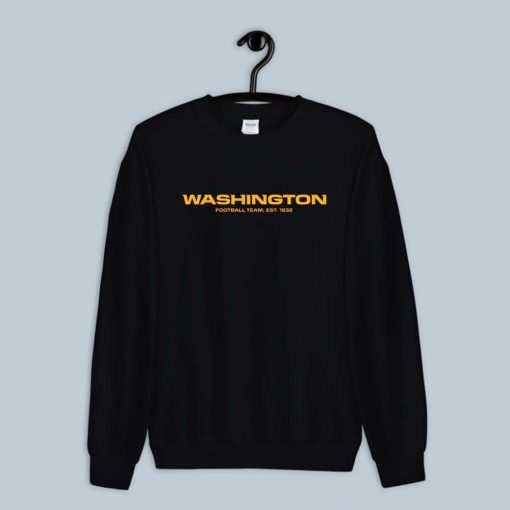 Washington Football Team EST. 1932 DC Sweatshirt