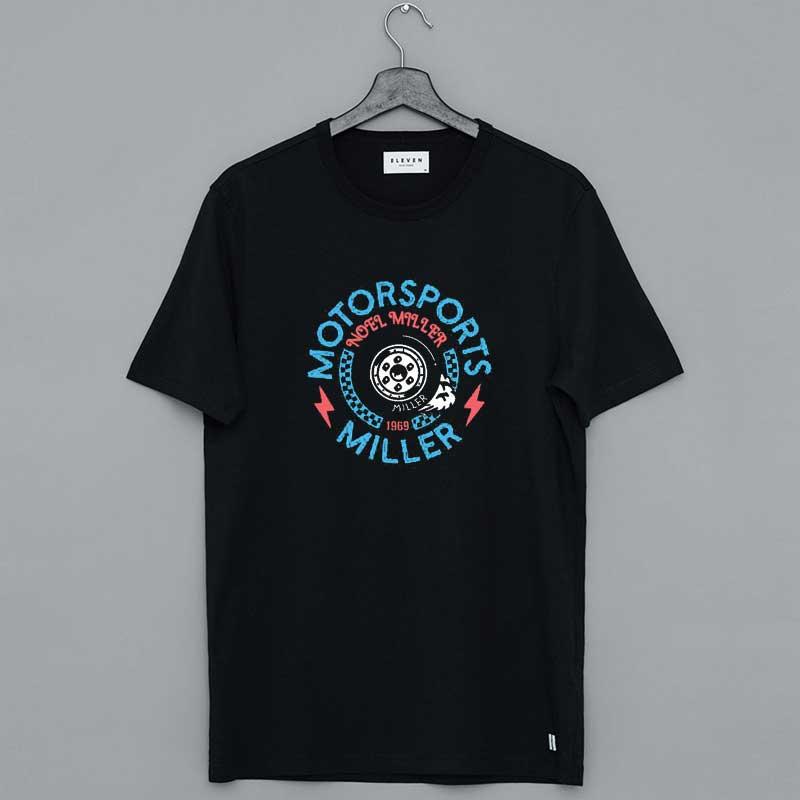 Noel Miller Merch Burnout Motorsports T Shirt
