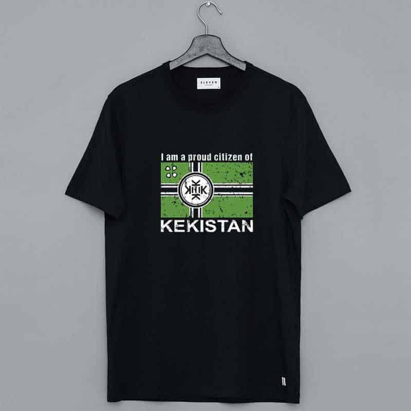 Kek Flag Proud Citizen Of Kekistan Flag T Shirt