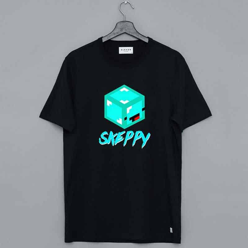 Minecraft Skeppy Merch Funny Face Shirt