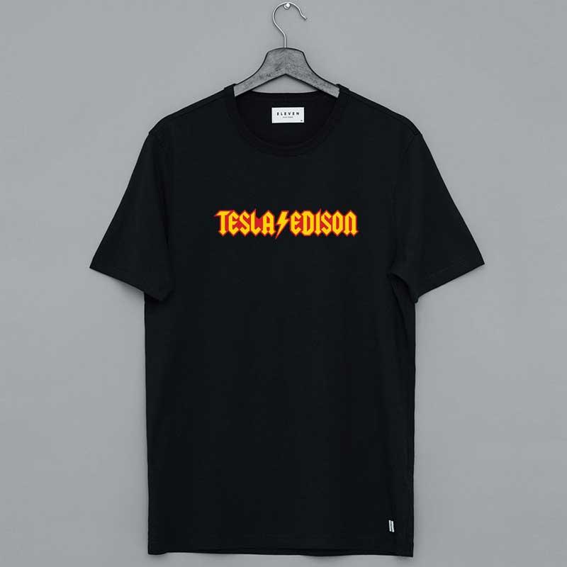 Ac Dc Tesla Edison Shirt