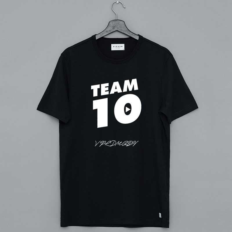 Team 10 Merch Jake Paul Shirt