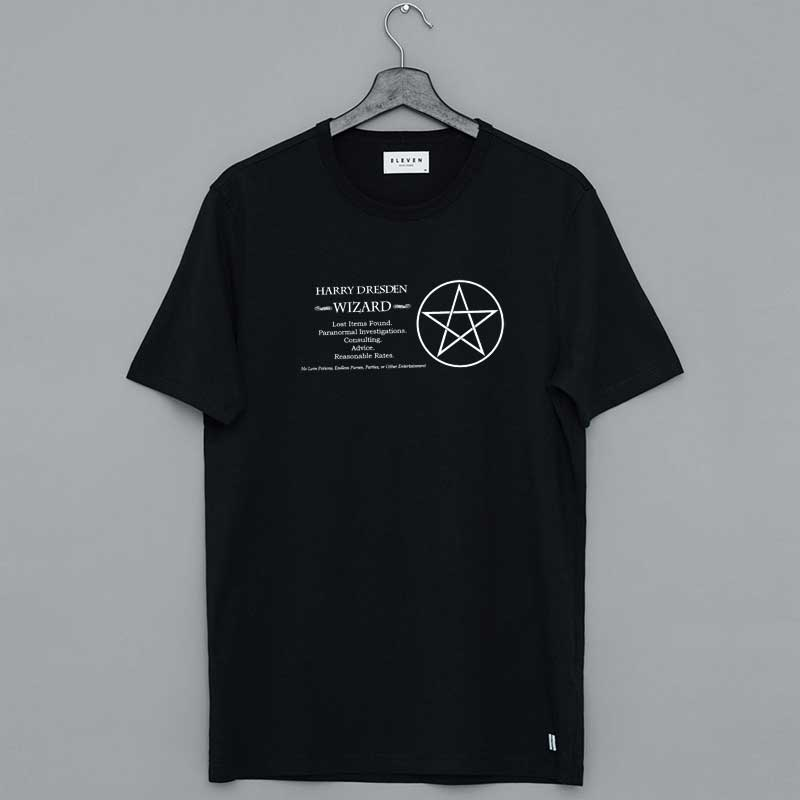 Harry's Dresden Files T Shirt