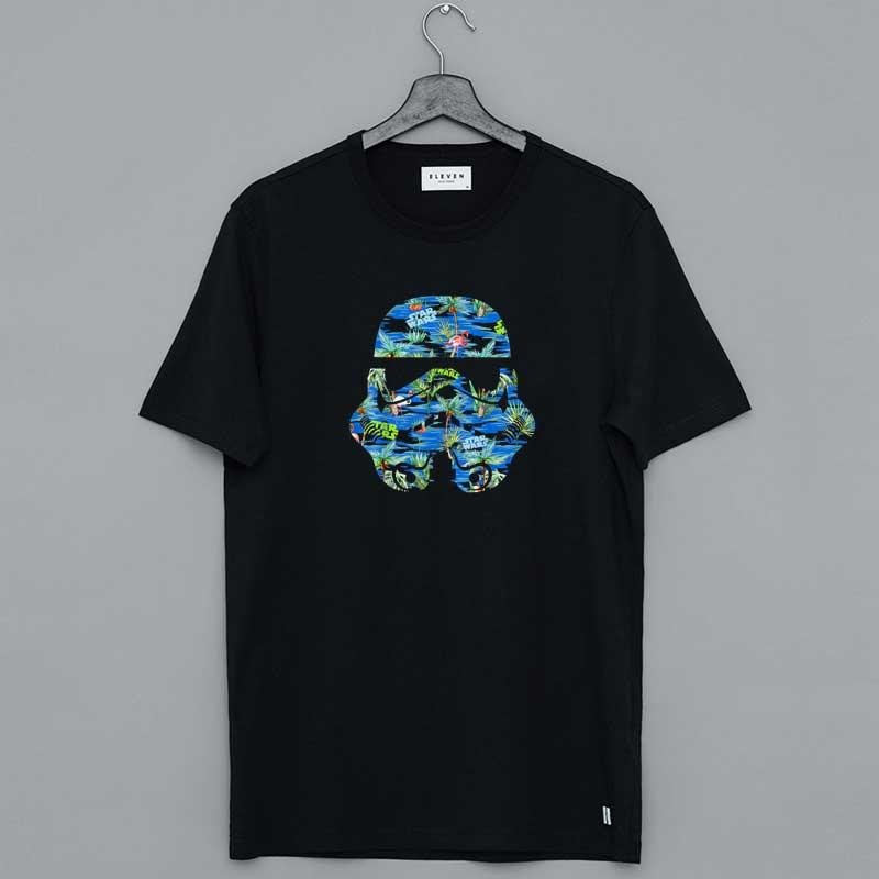 Star Wars Stormtrooper Helmet Hawaiian Shirt