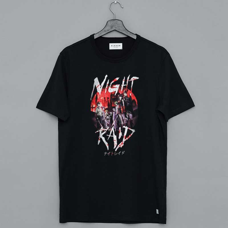 Akame Ga Kill Night Raid T-Shirt