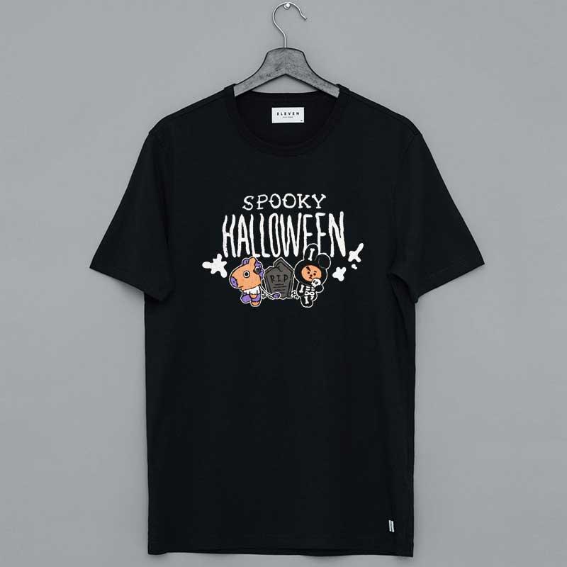 BT21 Spooky Halloween Merch T Shirt