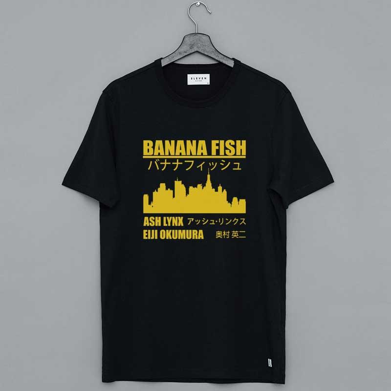 Banana Fish Merch State Ash Lynk Eiji Okumura Shirt