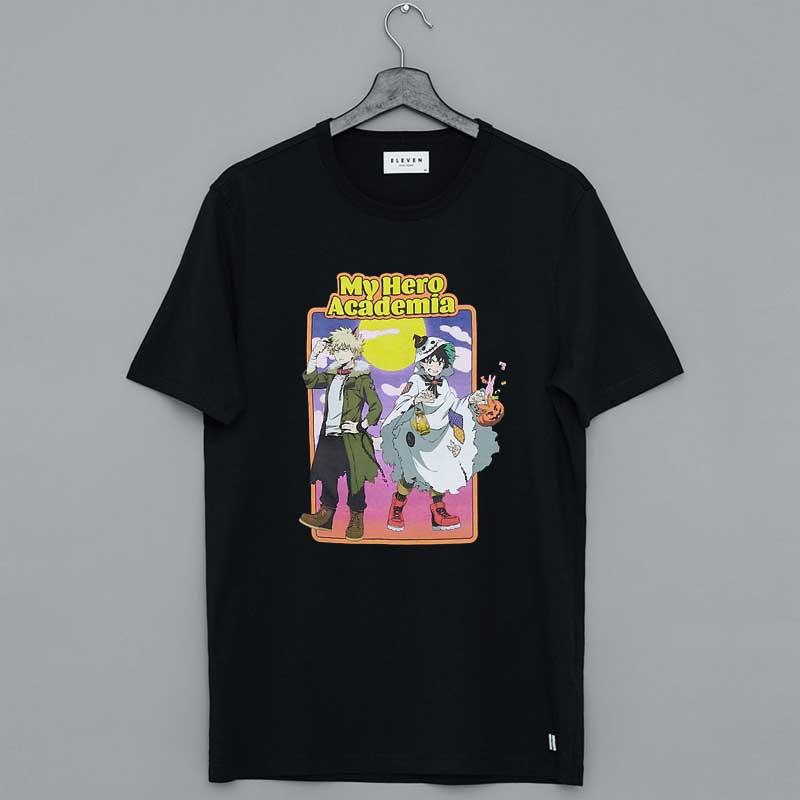 My Hero Academia Deku & Bakugo Halloween T-Shirt