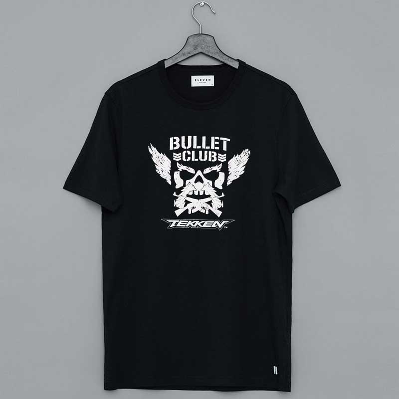 NJPW New Japan Pro-Wrestling Bullet Club X Tekken T-Shirt