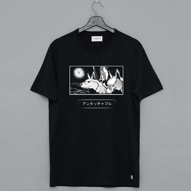 Princess Mononoke Dead Note Hime T Shirt