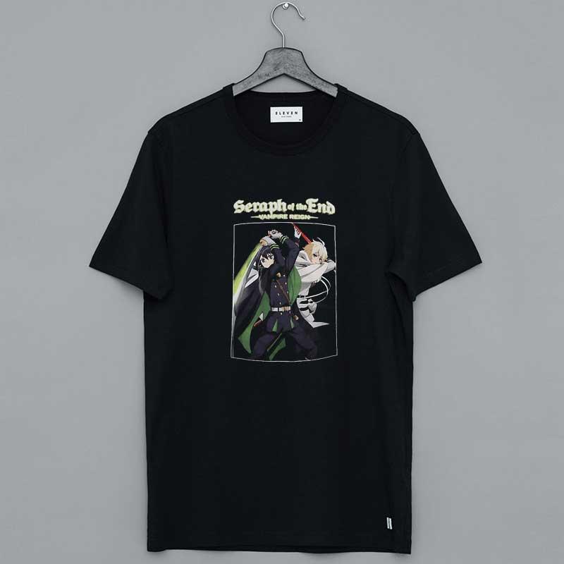 Seraph Of The End Vampire Reign Yuichiro And Mikaela T-Shirt