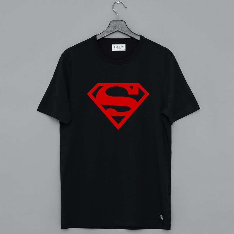 Superboy Logo Tee Shirt
